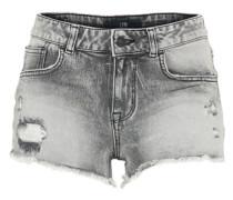 'Pamela' Denim Shorts grey denim
