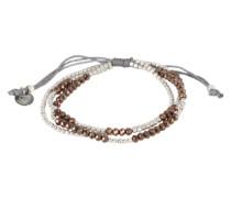 Armband 'Denise' braun / silber