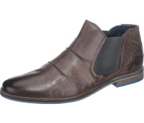 Leder-Boots kastanienbraun