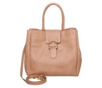 Handtasche im Leder-Look 'pcluna' beige