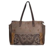 Shopper Tasche Leder 38 cm braun