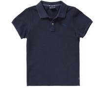Poloshirt für Jungen dunkelblau
