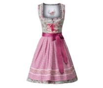 Dirndl 'Aura' hellgrün / pink