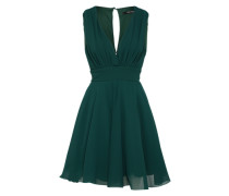 Kleid mit Tüllrock 'Nordi' grün