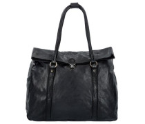 Geranio Shopper Tasche Leder 36 cm