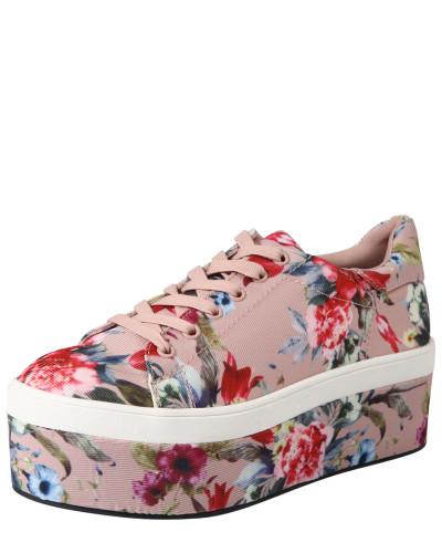 Plateau-Sneaker 'Floral' mischfarben