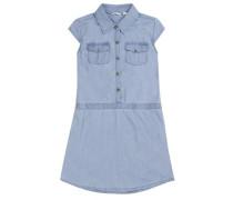 Kleid Mädchen Kinder blau
