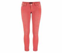 Slim-fit-Jeans »Mina« rot