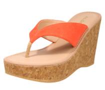 Pantolette 'Siasa' orangerot