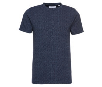 T-Shirt 'foam' dunkelblau