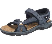 Sandalen taubenblau