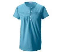 Rundhalsshirt blau