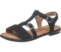 Sandalen Weite M für Mädchen schwarz