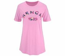 T-Shirt mischfarben / pink
