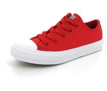 Mädchen Jungen Sneaker Chuck Taylor AS 2 Textil rot