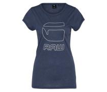 sportliches Shirt 'Cirst' dunkelblau