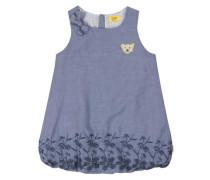 Kleid ärmellos blau