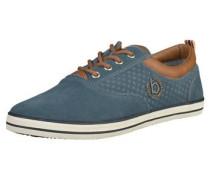 Sneaker pastellblau / braun