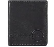 Wetland Geldbörse Leder 9 cm schwarz