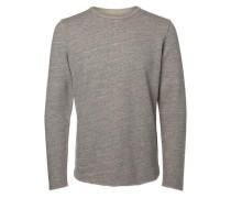 Crew-Neck-Sweatshirt graumeliert