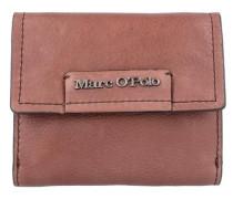 'Combi Wallet M' Geldbörse Leder 12 cm braun