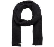 Klassischer Schal schwarz