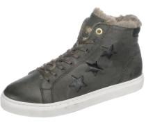 Anna Donna Fur Mid Sneakers grün