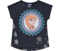 Disney DIE Eiskönigin T-Shirt mit Wendepailletten für... blau