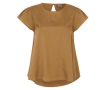 Shirt 'emily' mit Flügelärmeln braun