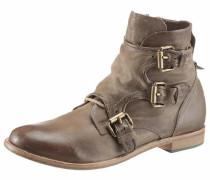 Boots ecru / hellbraun