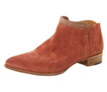Ankle Boots 'Ivy Velvet' rostrot