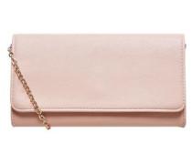 Clutch mit Gliederkette pink