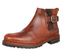 Chelsea-Boot im Vintagelook braun