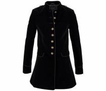 Military-Blazer schwarz