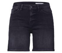 Shorts black denim
