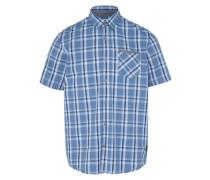 Hemd mit kurzen Ärmeln blau