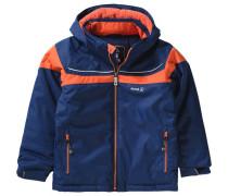 Winterjacke Jax für Jungen blau / orange
