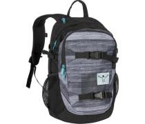 Sport School Rucksack 48 cm Laptopfach grau / dunkelgrau