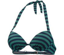 Bikini Oberteil Damen blau / grün