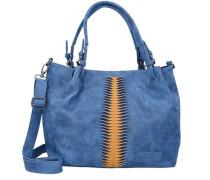Shopper 'Calida' himmelblau / honig