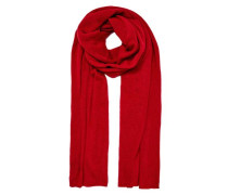 Cashmere Schal rot