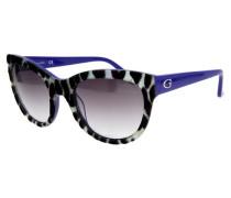 Sonnenbrille lila / schwarz