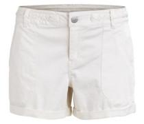 Schlichte Shorts 'vichano Shorts' weiß