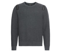 Pullover 'pull Manches Longues Details ZIP Epaules'