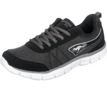 'KR-Run Ref' Sneakers schwarz