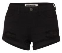 'Nmfran' Denim Shorts schwarz