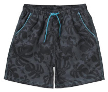 Badeshorts für Jungen hellblau / dunkelblau