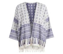 Kimono blau / weiß