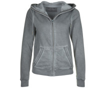 Sweatshirtjacke Hooded ZIP Jacket grau