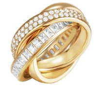 Ring mit Zirkonia gold